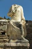 在以弗所,土耳其的罗马废墟 库存照片