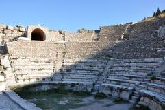 在以弗所,土耳其的Odeon 库存照片