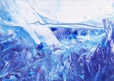 在水幻想下的北极 免版税图库摄影