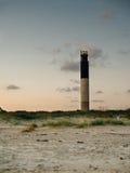 在黄昏的灯塔 免版税图库摄影