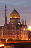 在黄昏的Yenidze 免版税库存图片