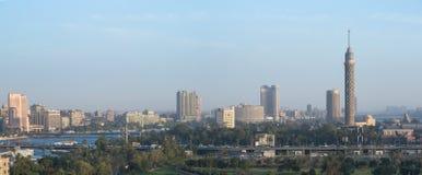 在黄昏的Zamalek 库存图片