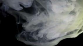在黑暗的支流烟 股票视频