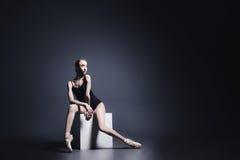 在黑暗的芭蕾 免版税库存照片