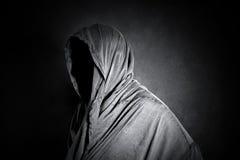 在黑暗的鬼的图 免版税库存图片