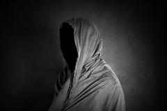在黑暗的鬼的图 免版税库存照片