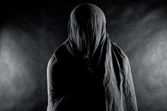 在黑暗的鬼魂 库存照片