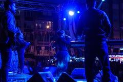 在5月19日青年节日音乐会的Aydilge Sarp 图库摄影
