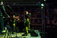 在5月19日青年节日音乐会的Aydilge Sarp 免版税库存图片