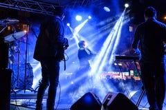 在5月19日青年节日音乐会的Aydilge Sarp 免版税图库摄影