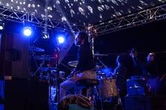 在5月19日青年节日音乐会的Aydilge Sarp 免版税库存照片