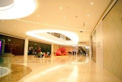 深圳瓷: haiya binfen城市购物广场 库存图片