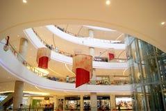深圳瓷: haiya binfen城市购物广场 免版税库存照片