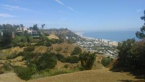 在洛杉矶的看法 免版税库存图片