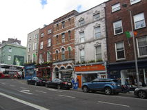 在黄柏,爱尔兰的街道 免版税库存图片