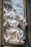 在水池大教堂,教堂新圣胡利安或Th里面 免版税库存图片