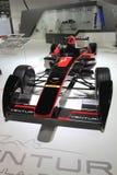 在巴黎汽车展示会的文丘里管赛车 免版税库存照片