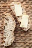 在黄油上添面包 免版税图库摄影