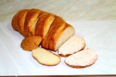 在黄油上添面包 免版税库存图片