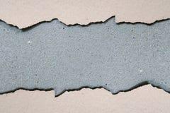 在水泥地板上的老油漆 免版税库存图片