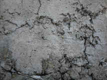 在水泥的镇压 库存图片