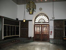 在巴黎清真寺里面 库存图片