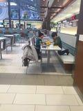 在购物中心的乐高 库存图片