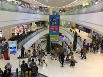 在购物中心Bangkae整修的内部看法 库存照片