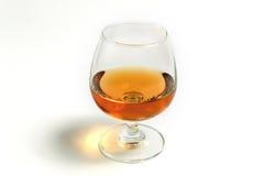 在玻璃的威士忌酒白兰地酒 免版税库存照片