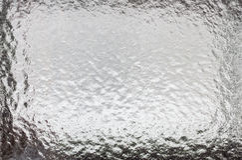 在玻璃的抽象冷淡的样式 库存照片