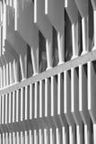 在黑白的现代大厦门面结构细节 图库摄影