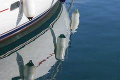 在水的反射 免版税库存图片