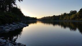 在水的反映 免版税图库摄影
