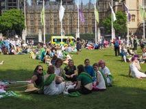 在100的妇女参政权在伦敦 库存照片
