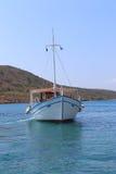 在水的小船 免版税图库摄影
