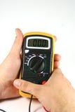 电数字式测试器 免版税库存照片