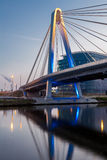 在水的桥梁 免版税库存照片