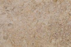 在轻的米黄颜色的自然美丽的大理石 库存图片