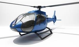 现代直升机 库存照片