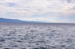 在水的通知 免版税图库摄影