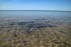 在水的阳光 免版税库存照片