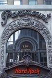 在头等剧院的硬石餐厅 免版税库存照片