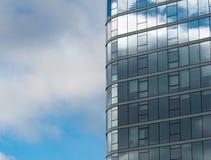 在建筑学的RELECTION 免版税库存图片