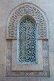 在默罕默德阿里宫殿-开罗,埃及的古老窗口 免版税图库摄影