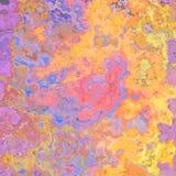 在紫罗兰色,桃红色的抽象五颜六色的背景,蓝色和黄色 免版税库存图片
