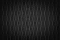 在黑背景的六角样式 免版税图库摄影