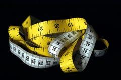 测量的磁带 图库摄影