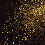 在黑背景的黑暗的粒状纹理 向量例证