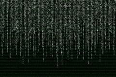 编码�z*_在黑背景的绿色二进制计算机编码.