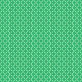 在绿色的无缝的样式黄色 图库摄影